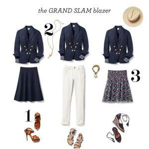 cabi Grand Slam Blazer Navy